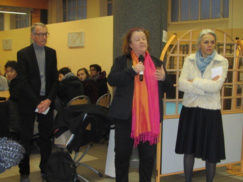 Allocution de Madame Frédérique Calandra, maire du 20e arrondissement