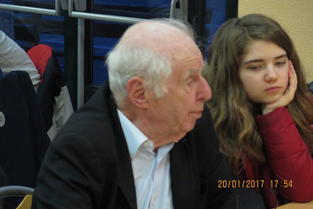 Robert Créange, ancien président de la FNDIRP