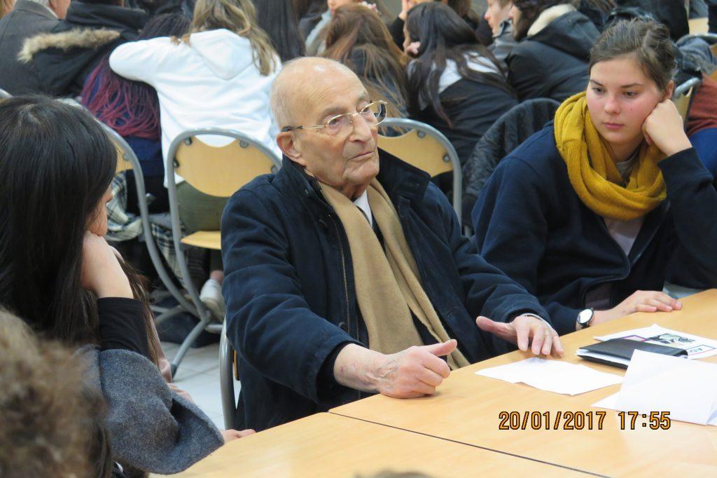 Bernard Herz, résistant, déporté à Buchenwald et à Dora