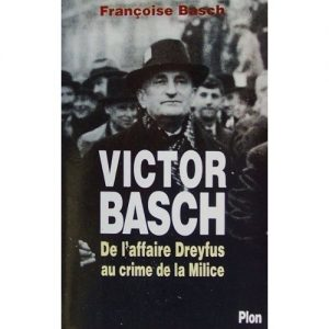 Basch-Francoise-Victor-Basch-Livre-903482947_L