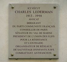 220px-Plaque_Charles-Lederman